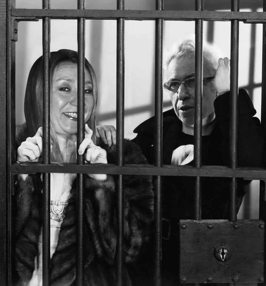 Suzanne Martin and David Levy behind bars for fraud